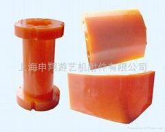 聚氨酯PU高性能礦山刀片,漲緊器,犁頭