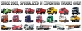 low flatbed Semi Trailer china 2
