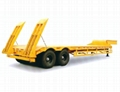 low flatbed Semi Trailer china 5