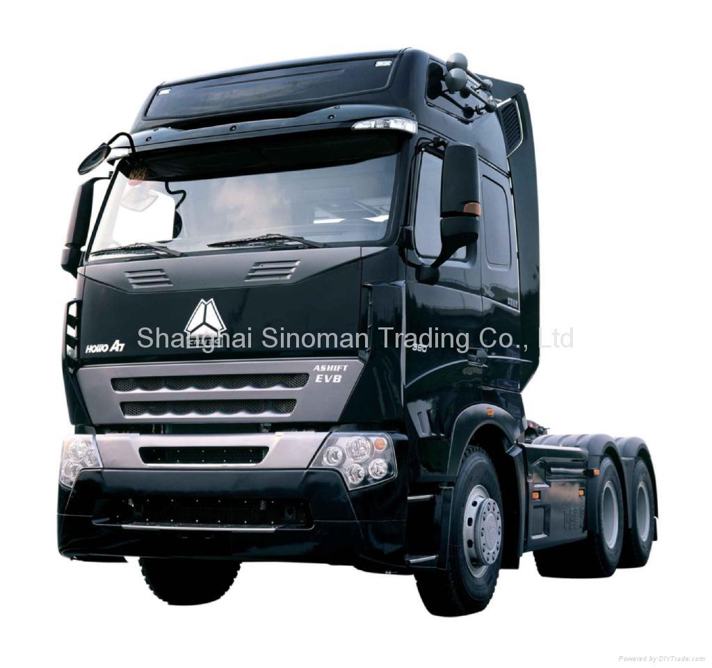 SINOTRUK HOWO Tractor head Shanghai  1