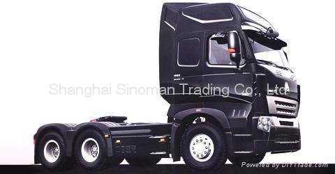 SINOTRUK HOWO Tractor head Shanghai  4