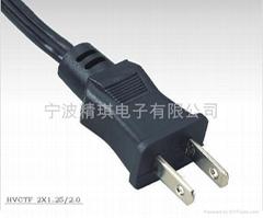 日本PSE认证插头电源线  标准高温线材