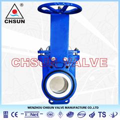 QU Handwheel Knife gate valve
