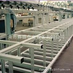 青島濟南鋁型材儀器框架