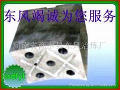 軋輥磨床中心架巴氏合金托瓦鑄造加工