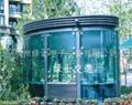 鋼結構玻璃崗亭 3