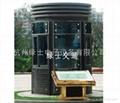钢结构玻璃岗亭 4