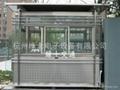 钢结构玻璃岗亭 5