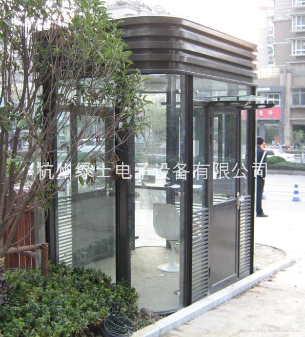 杭州保安崗亭 5