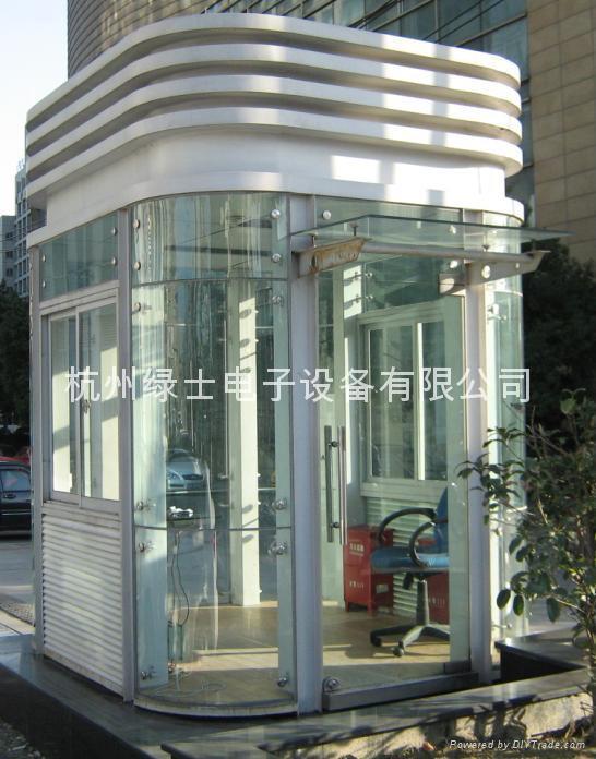 杭州小区岗亭 1