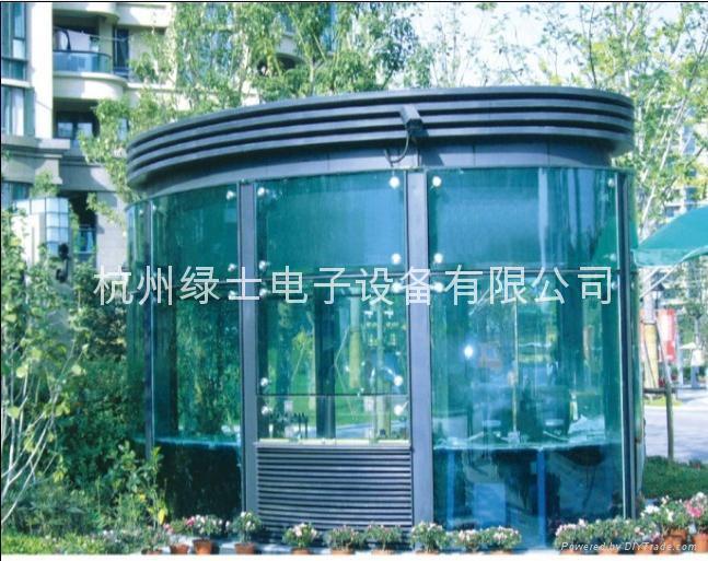 杭州小区岗亭 2