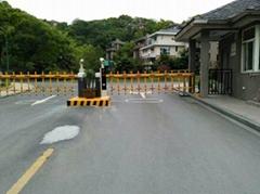 杭州車牌識別停車場