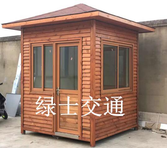 杭州防腐木岗亭 2