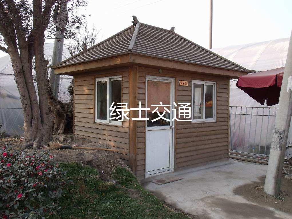 杭州防腐木岗亭 3