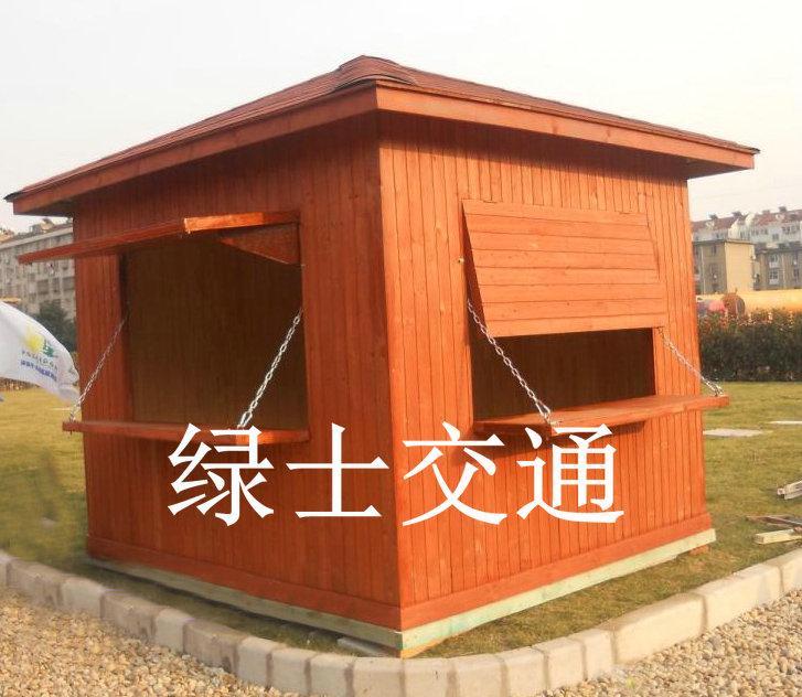 杭州防腐木岗亭 5