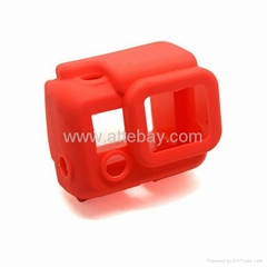 Silicone Rubber Case for Gopro Hero 3