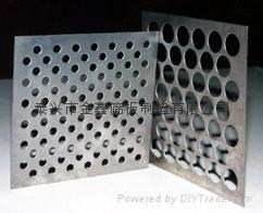 不锈钢筛板塔冲孔网孔板 2