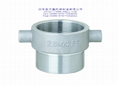 maleXfemale nipple whith lug-aluminum