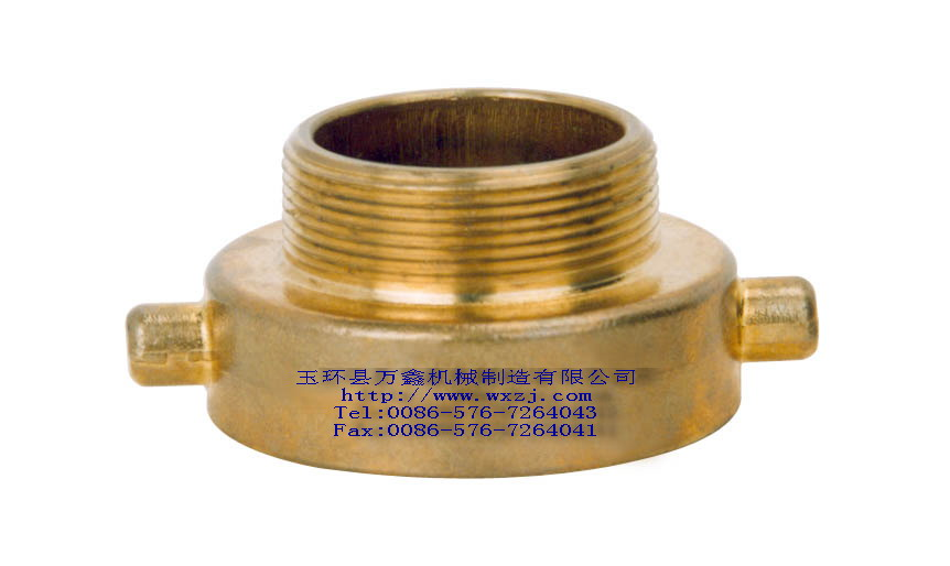 黃銅鑄造縮徑接頭 1