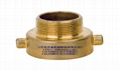 黄铜铸造缩径接头