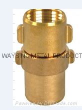 Brass Expansion Coupling