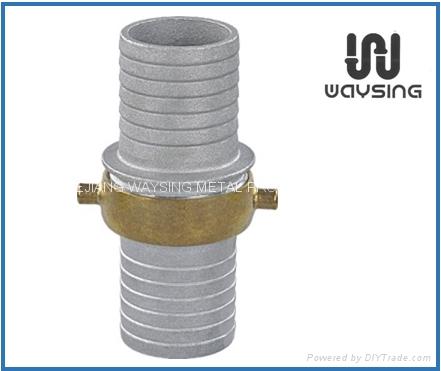 铝合金体黄铜螺纹接头 1