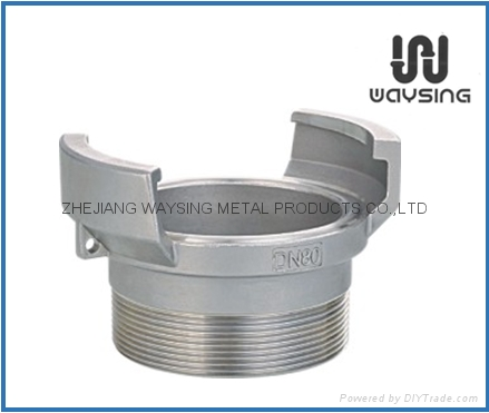 GUILLEMIN COUPLING WITHOUT LOCK RING AND MALE BSP PARALLEL THREAD-SS