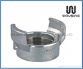 GUILLEMIN COUPLING WITH FEMALE BSP PARALLEL THREAD WITHOUT LOCK RING-SS