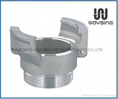 鋁製法式外無鎖接頭