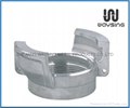GUILLEMIN COUPLING WITH FEMALE BSP PARALLEL THREAD WITHOUT LOCK RING-ALUMINUM
