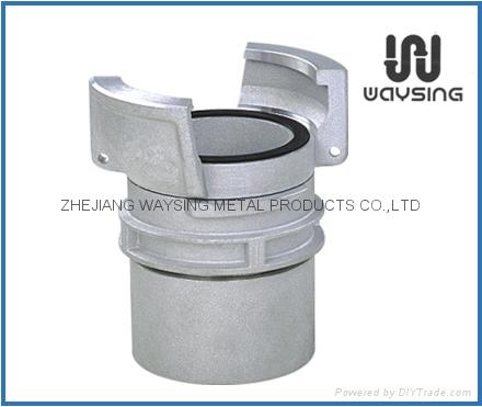 铝制法式内带锁接头 1