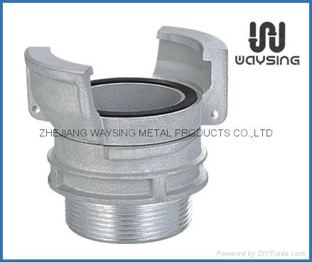 铝制法式外带锁接头 1