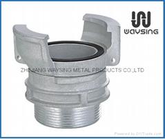 鋁製法式外帶鎖接頭