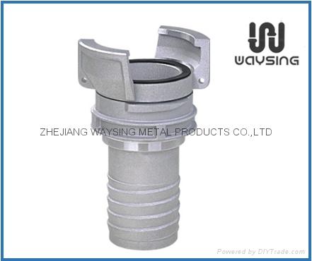铝制法式螺旋管尾 1
