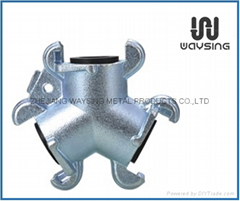 Universal Coupling USA Style Tri-way