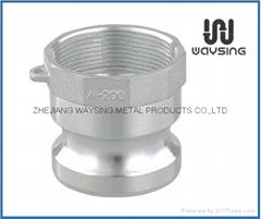 Aluminium .Camlock Type A