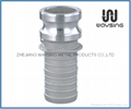 CAMLOCK Type E (Male Adapter x Hose Shank)