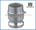 CAMLOCK Type F(Male Adapter X Male Thread)