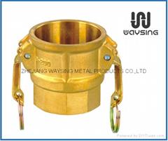 Brass D( Coupler X Female thread)