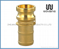 Brass E (Adapter x Hose Shank)