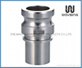 DIN2828 TYPE E (Male Adapter x hose shank)-SS