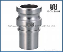 DIN2828 TYPE E (Male Adapter x hose shank)-SS