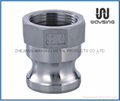 DIN2828 TYPE A (Male Adapter x Female thread)-SS