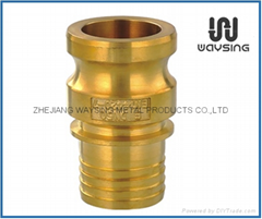 DIN2828 TYPE C Multi-barbs hose tail)-BRASS