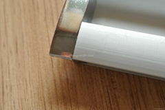 Aluminum alloy cabinet door cabinet drawer hidden-interlocking handle