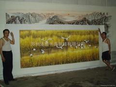 郑州装裱大型国画油画
