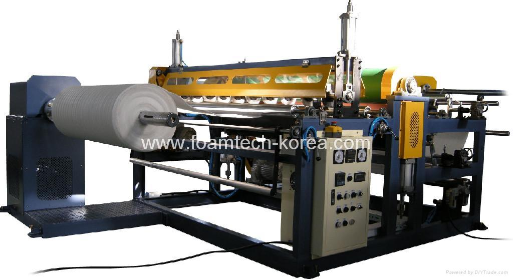 PE foam sheet liminating machine 1