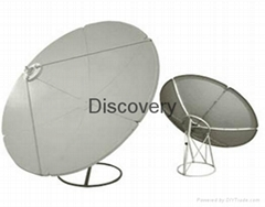 Satellite antenna Ku band and C band