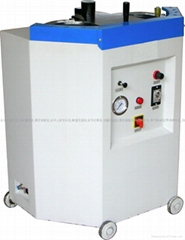 Barrel type sole pressing machine