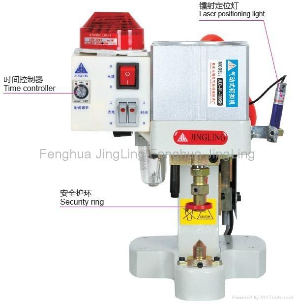 Security Single Head Pneumatic Button Attaching Machine 1